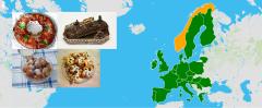 Weihnachtsdesserts aus Europa