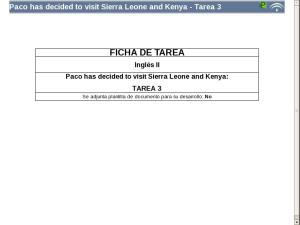 Paco has decided to visit Sierra Leone and Kenya - Tarea 3