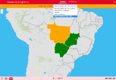 États de la région centre-ouest du Brésil