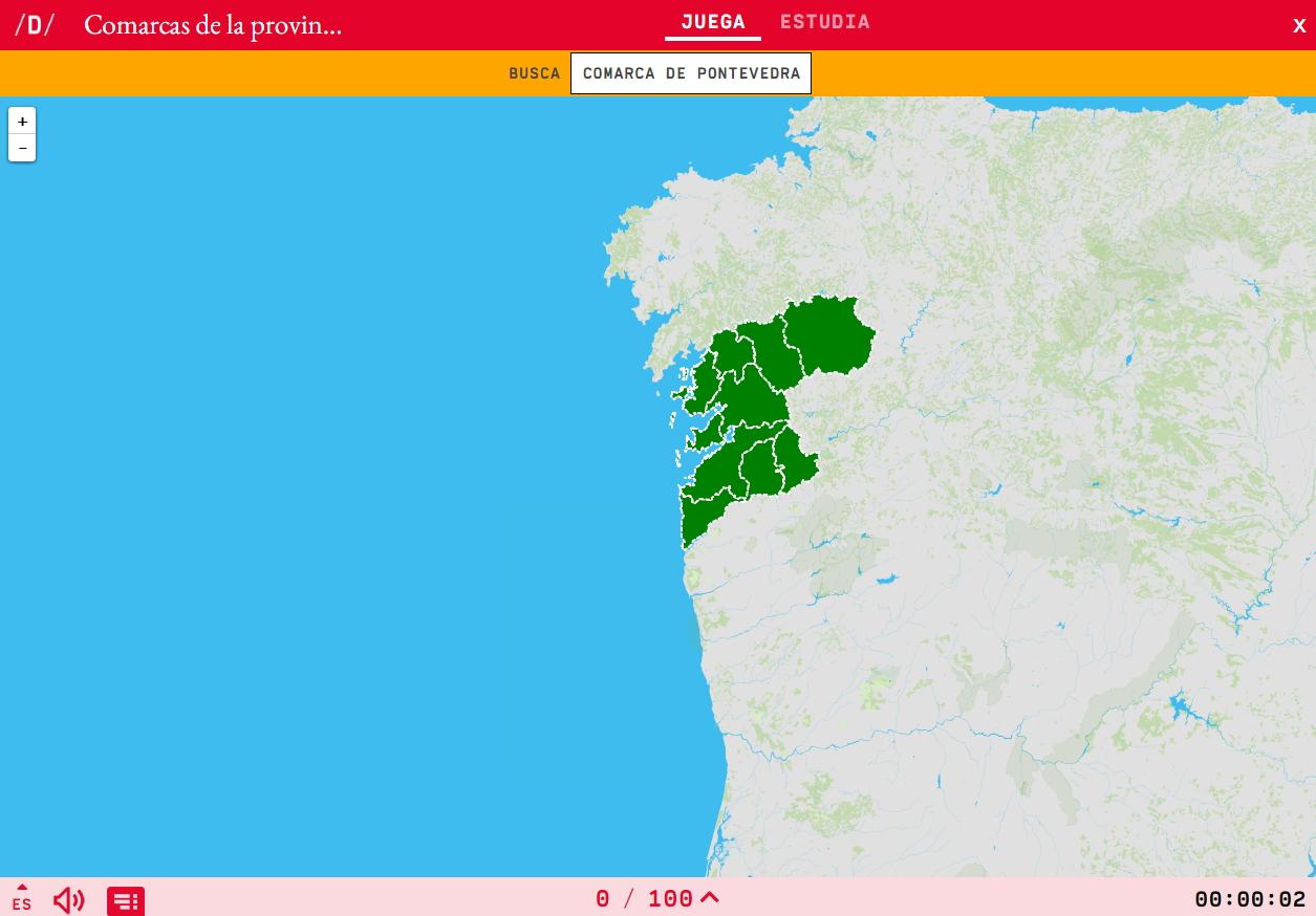 Comarcas de Pontevedra
