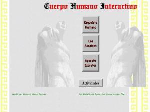 Cuerpo Humano Interactivo