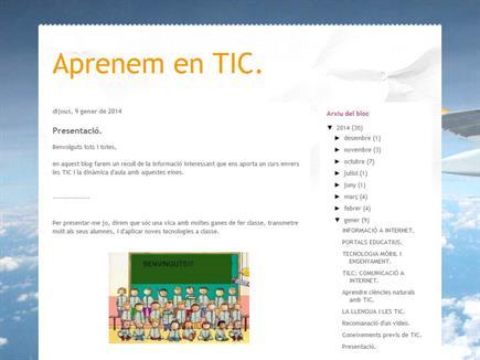 Aprenem en TIC