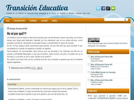 Transición Educativa