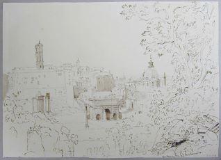 Vista del Foro, Roma (Italia)
