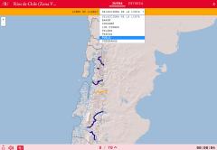 Ríos de Chile (Zona V, VI y VII)
