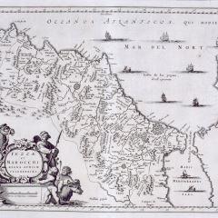 Mapa del reino de Marruecos