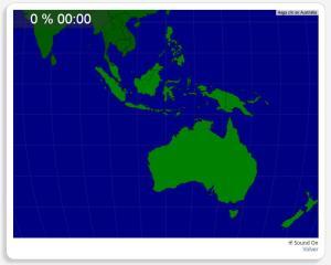 Australie : les pays environnants. Seterra