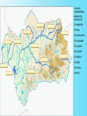 Los Mapas mudos de Andalucía. Jugando con los mapas