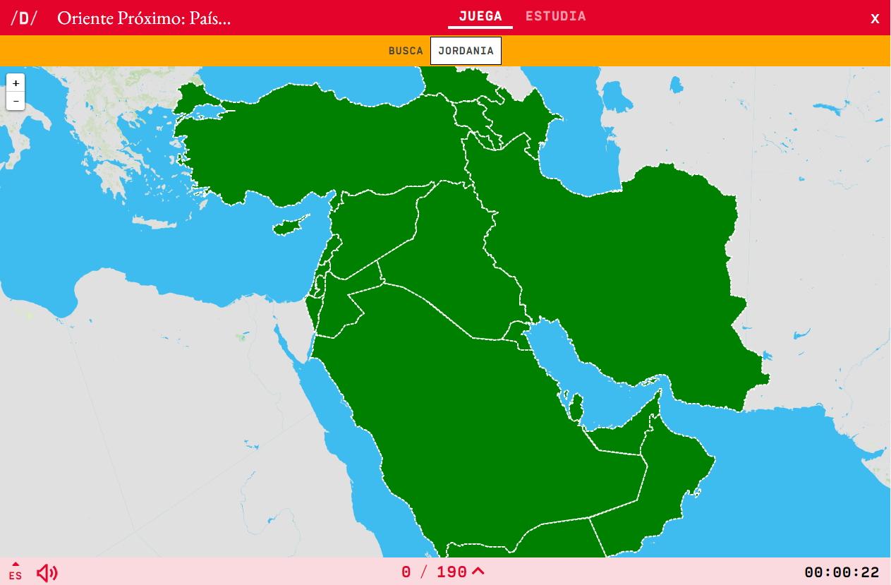 Países de Oriente Próximo