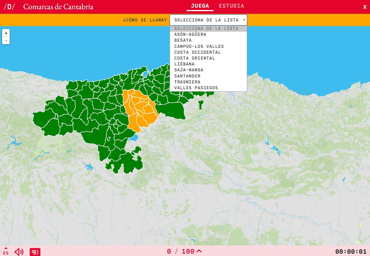 Comarcas de Cantabria