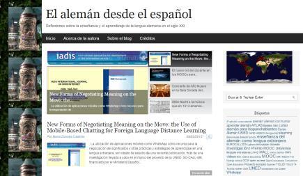 El alemán desde el español