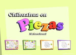 Municipios de Chihuahua. Puzzle. INEGI de México