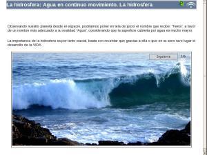La hidrosfera: Agua en continuo movimiento