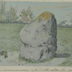 Piedra conmemorativa de la batalla de Homilden (Inglaterra)