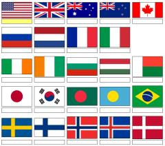 Flags of the world (JetPunk)