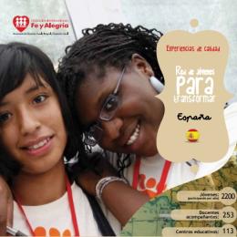 Red de jóvenes para transformar. Centros educativos de Andalucía (España)