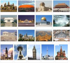 Picture of world landmarks 2 (JetPunk)