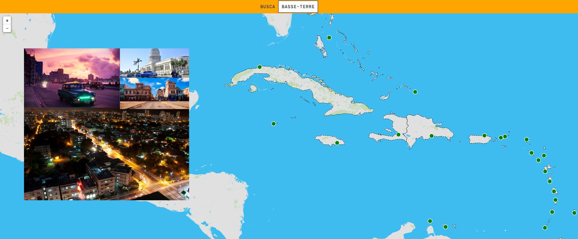 Die Karibik: Hauptstädte
