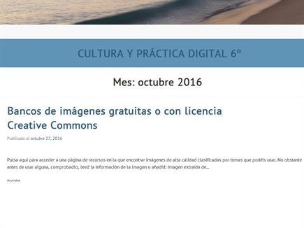 Cultura y Práctica Digital 6º