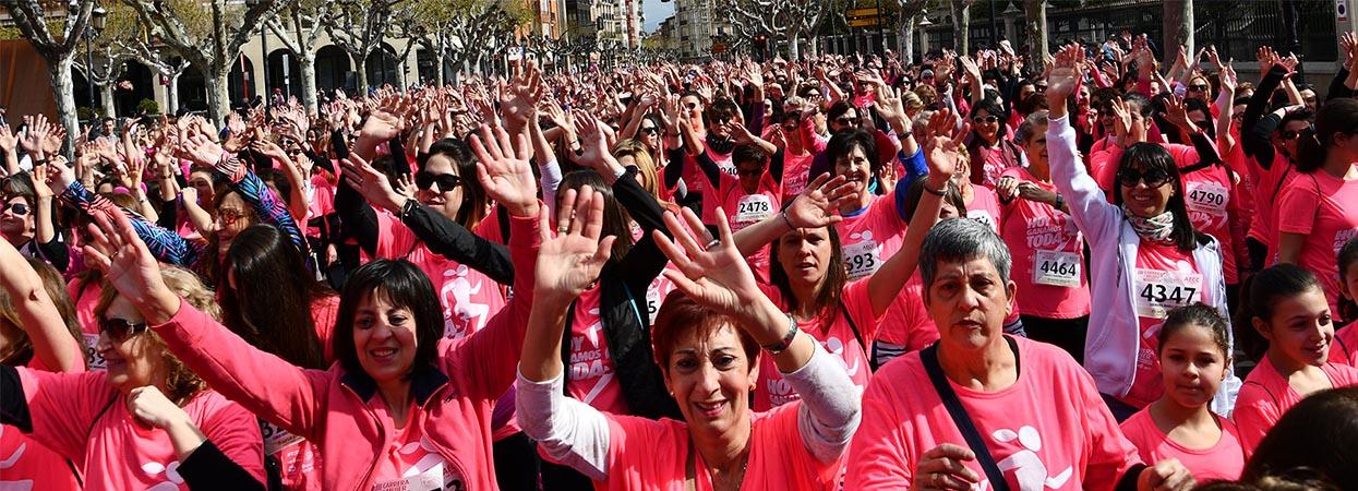Garnica colabora un año más en la IV Carrera de la Mujer por la Investigación