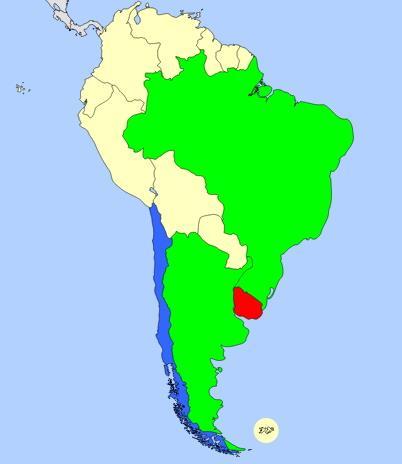 South America map  (JetPunk)