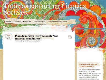 Tutorías con net en Ciencias Sociales