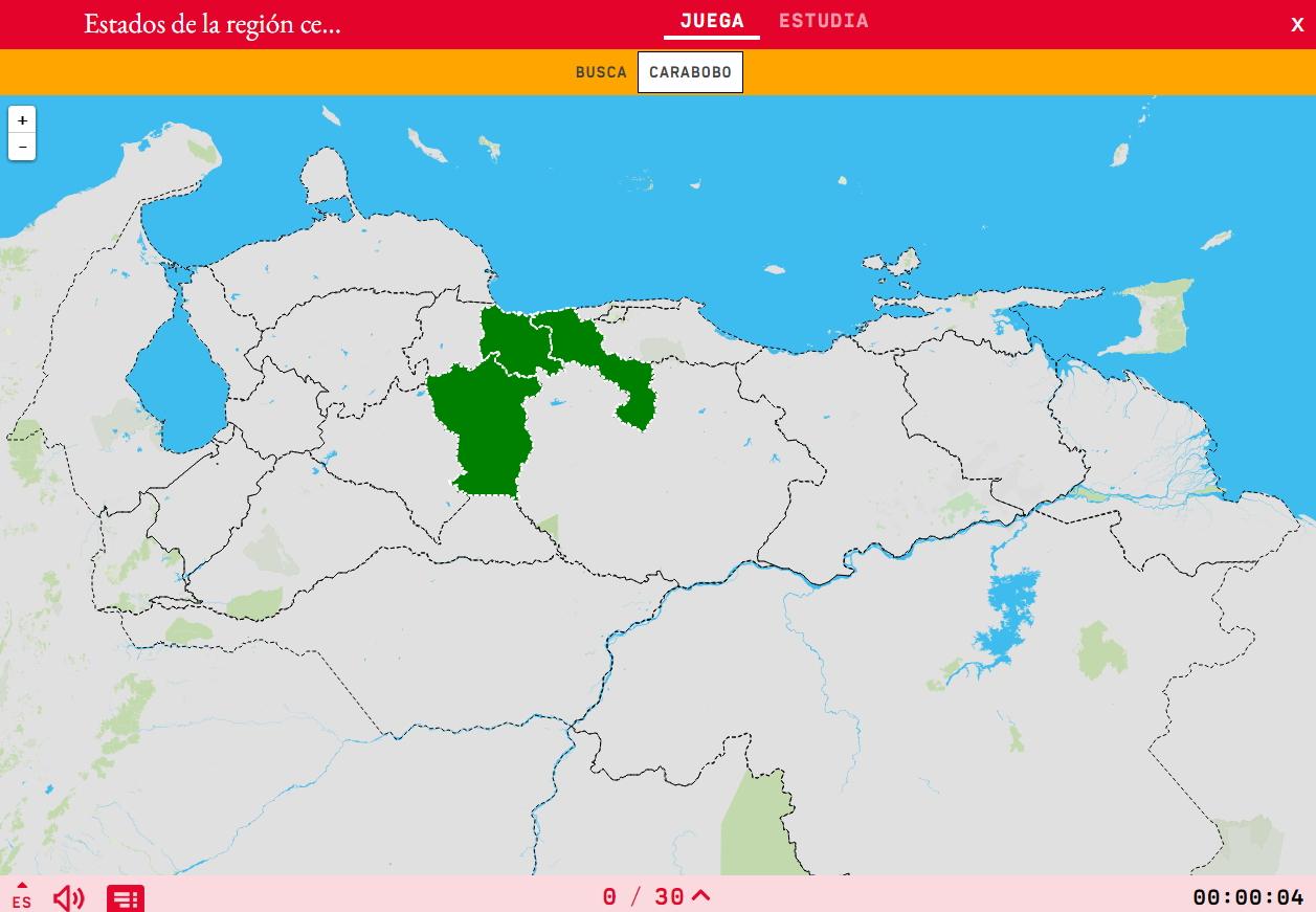 États de la région centre du Venezuela
