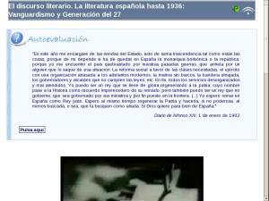 El discurso literario. La literatura española hasta 1936: Vanguardismo y Generación del 27