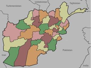 Provinces of Afghanistan. Lizard Point