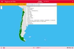 Rexións do Chile