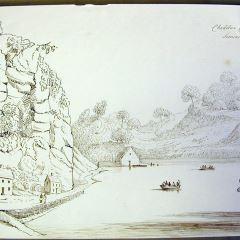 Cheddar Cliffs. Somersetshire (Inglaterra)