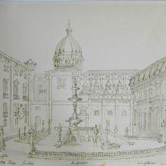 Plaza Pretoria en Palermo (Italia)