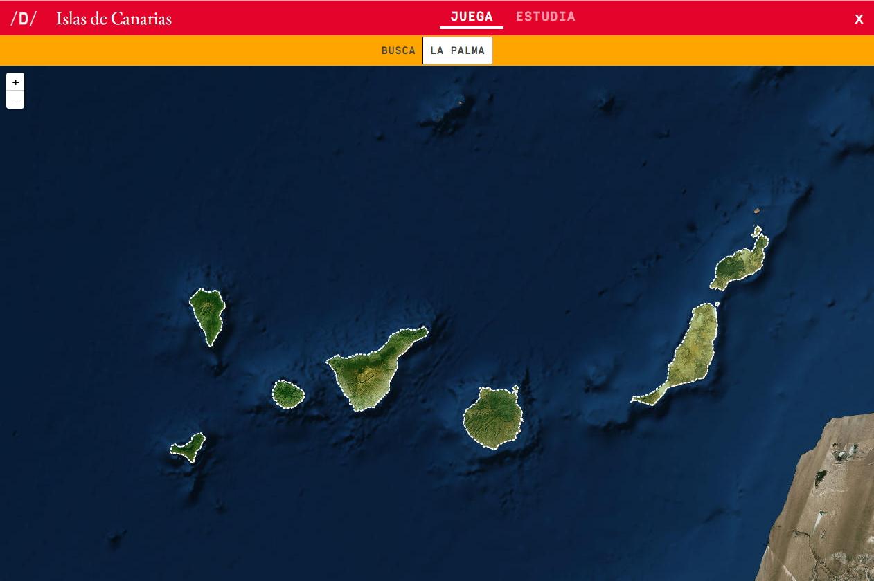 Mapa Politico De Canarias.Mapa Para Jugar Donde Esta Islas De Canarias Mapas