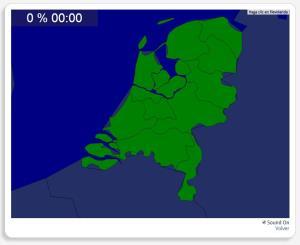 Países Bajos: Provincias. Seterra