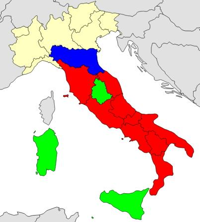 Regions of Italy  (JetPunk)