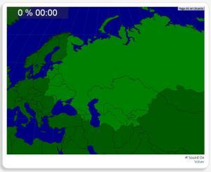 Ancienne Union Soviétique : les pays. Seterra