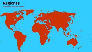 Regiones del Mundo. Juegos de Geografía