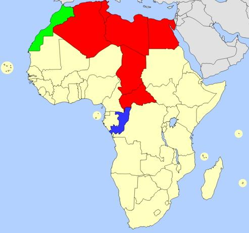 Africa map  (JetPunk)