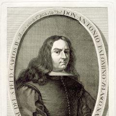 Retrato de Antonio Palomino de Castro y Velasco