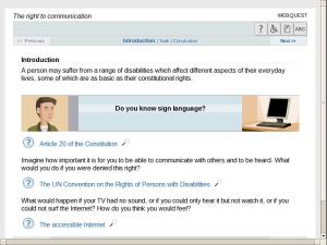 The right to communication