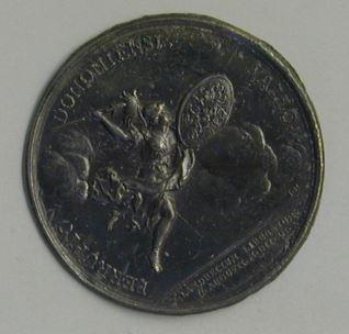 Prueba para la medalla conmemortiva dela liberación de Landrecies