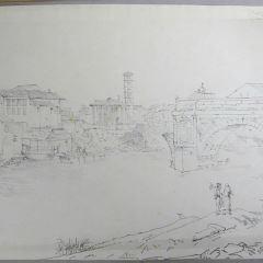 Vista del Tíber a su paso por Roma