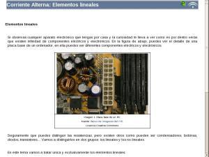 Corriente Alterna: Elementos lineales