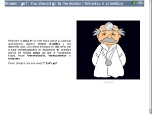Should I go?: You should go to the doctor / Deberías ir al médico