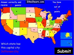 Capitals of U.S. states. Ilike2learn