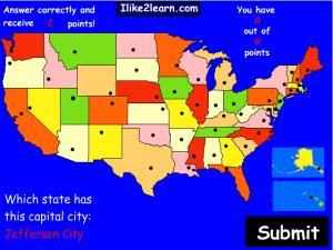 Capitals of U.S. states. Ilike2learn