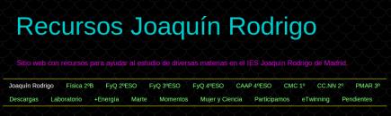 Recursos Joaquín Rodrigo