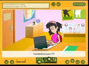 Transferència d'arxius a través d'Internet