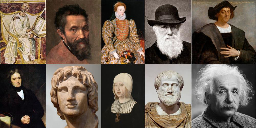 Personajes relevantes de la historia (medio)