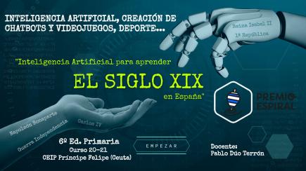 Inteligencia Artificial para aprender el S.XIX en España.
